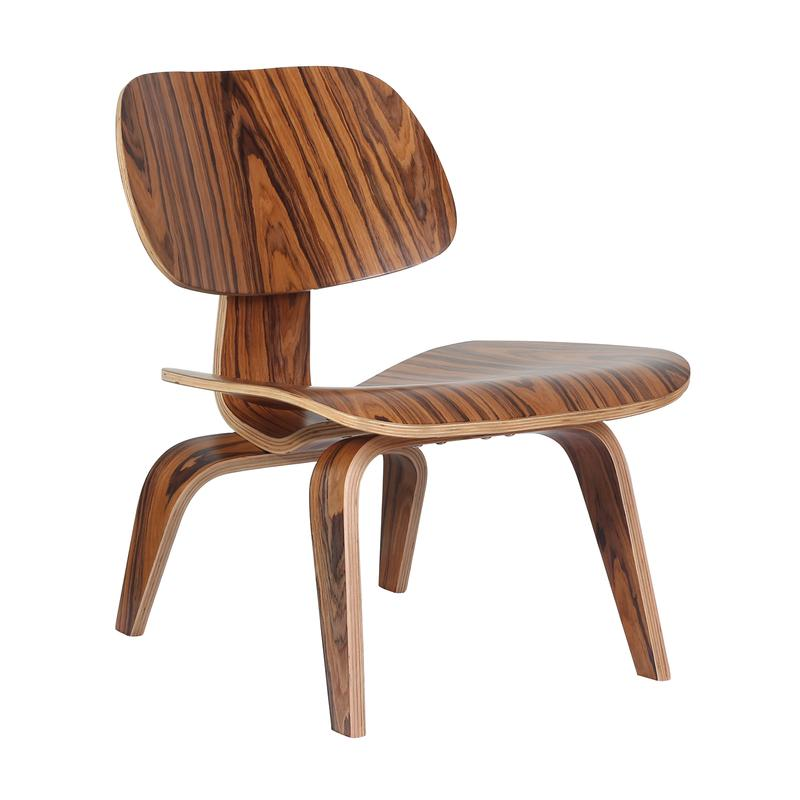 Eames LCW Chair Replica - Rosewood - DECOMICA