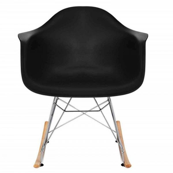 Eames rocking chair RAR Replica Black By Decomica - DECOMICA