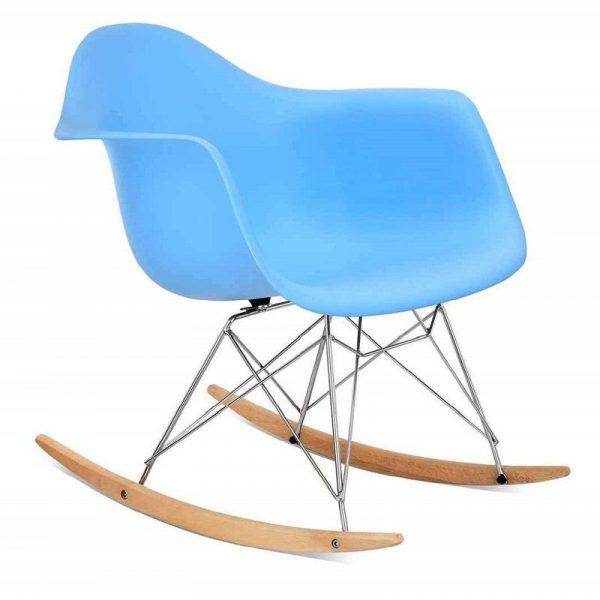 Eames rocking chair RAR Replica Light Blue By Decomica - DECOMICA