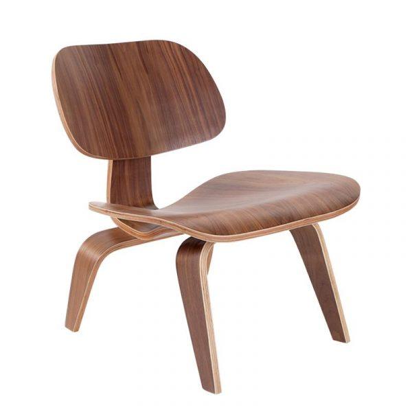 Eames LCW Chair Replica - Walnut - DECOMICA