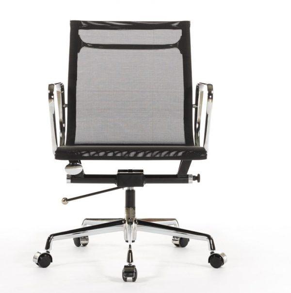Eames Management EA117 Mesh Office Chair Replica - Black - DECOMICA