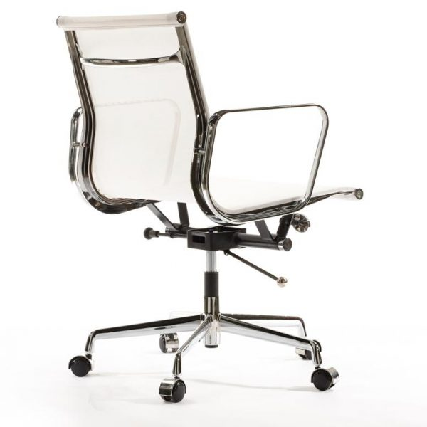 Eames Management EA117 Mesh Office Chair Replica - White - DECOMICA